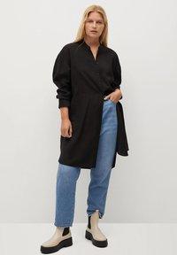 Violeta by Mango - TENCE - Button-down blouse - schwarz - 1