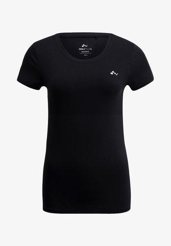 ONPCLARISSA TRAINING TEE - T-shirts - black