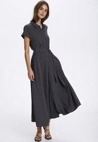 Soaked in Luxury - ARJANA  - Maxi dress - india ink - 1