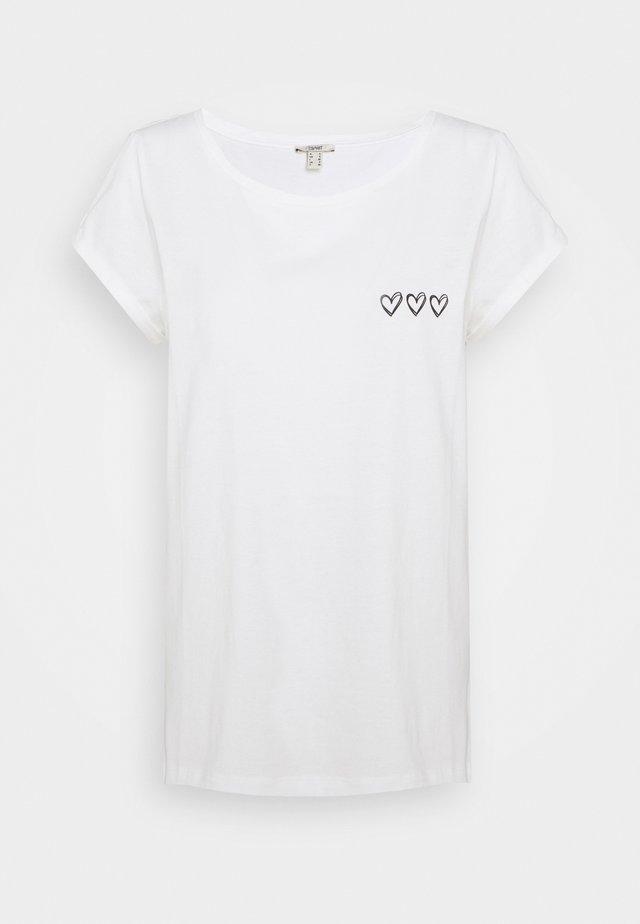 CORE COO - Print T-shirt - off white