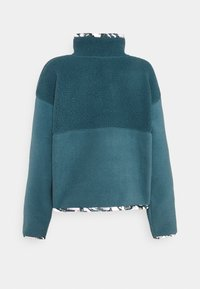 The North Face - LIBERTY SIERRA SHERPA - Fleecepullover - mallard blue - 7