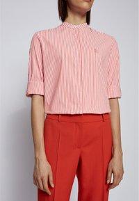 BOSS - BEFELIZE - Button-down blouse - dark orange - 3