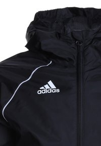 adidas Performance - CORE ELEVEN FOOTBALL JACKET - Hardshell jacket - black/white - 2