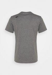 4F - Men's T-shirt - Basic T-shirt - grey - 1