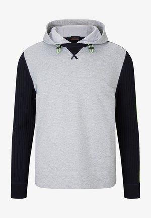 Sweatshirt - grau/navy-blau