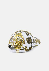 Versace Jeans Couture - BASEBALL WITH CENTRAL SEWING UNISEX - Cap - bianco/gold - 1