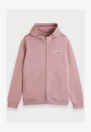 Zip-up hoodie - mauve
