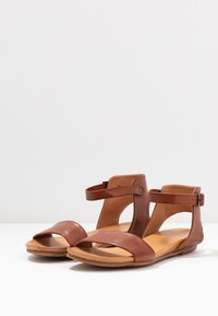 Anna Field - LEATHER  - Sandals - cognac - 4