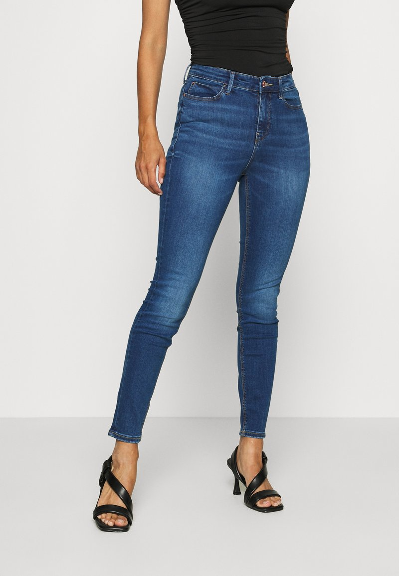 Guess - Skinny džíny - blue denim