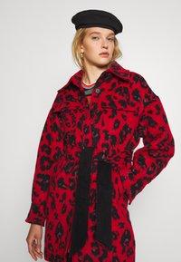 Diane von Furstenberg - MANON COAT - Classic coat - red - 4