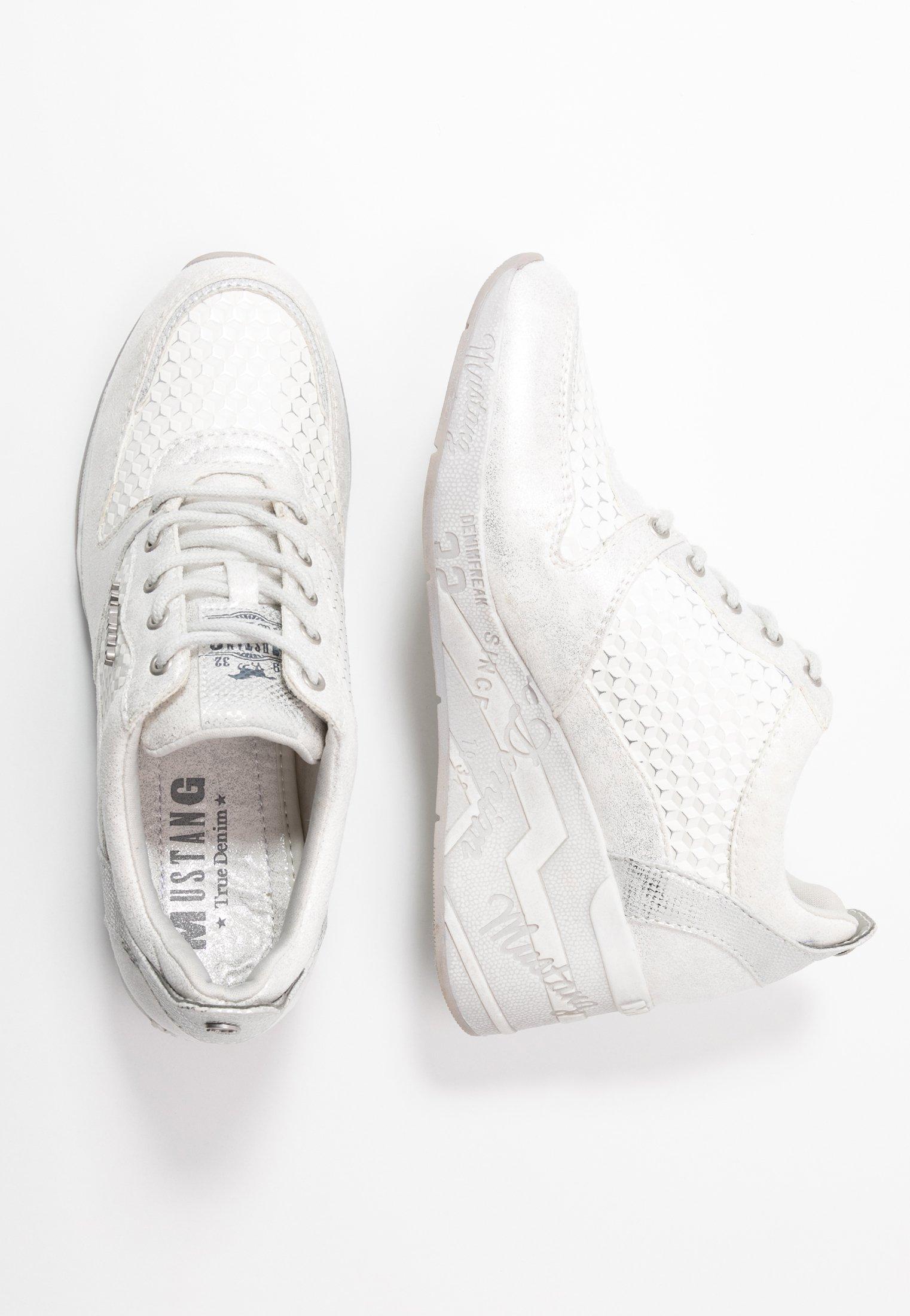 Sneakers weißsilber