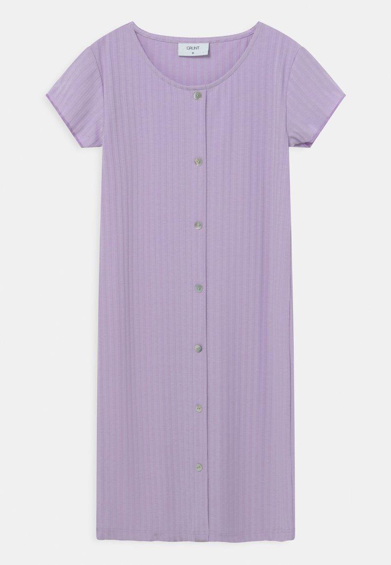 Grunt - HEY  - Jersey dress - light purple
