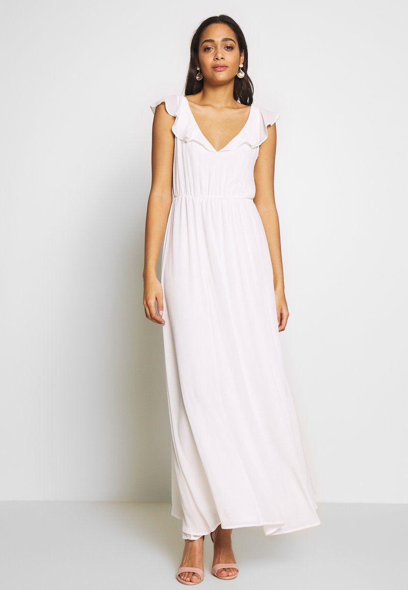 Vila - VIRANNSIL  - Maxi dress - cloud dancer