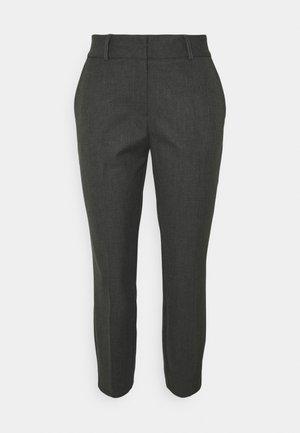 SLFRIA CROPPED PANT PETITE - Trousers - dark grey melange