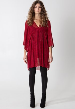 ALIKA - Tunic - red