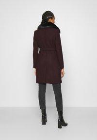 Morgan - Płaszcz wełniany /Płaszcz klasyczny - bordeaux - 2