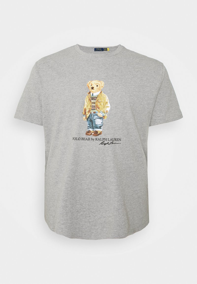 Polo Ralph Lauren Big & Tall - Print T-shirt - andover heather