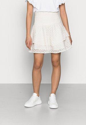 YASMARIPA SKIRT PETITE - Mini skirt - eggnog