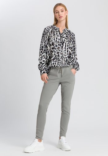 Button-down blouse - salvia varied