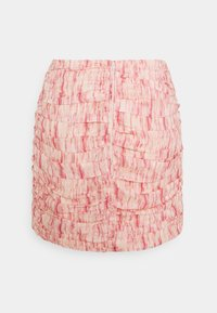 CMEO COLLECTIVE - WHIRL SKIR - Mini skirt - pink burnout - 1