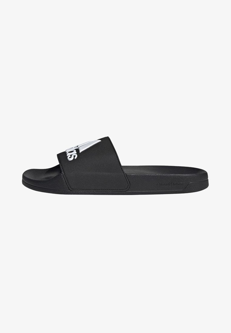 adidas Performance - ADILETTE SHOWER SLIDES - Badesandale - black