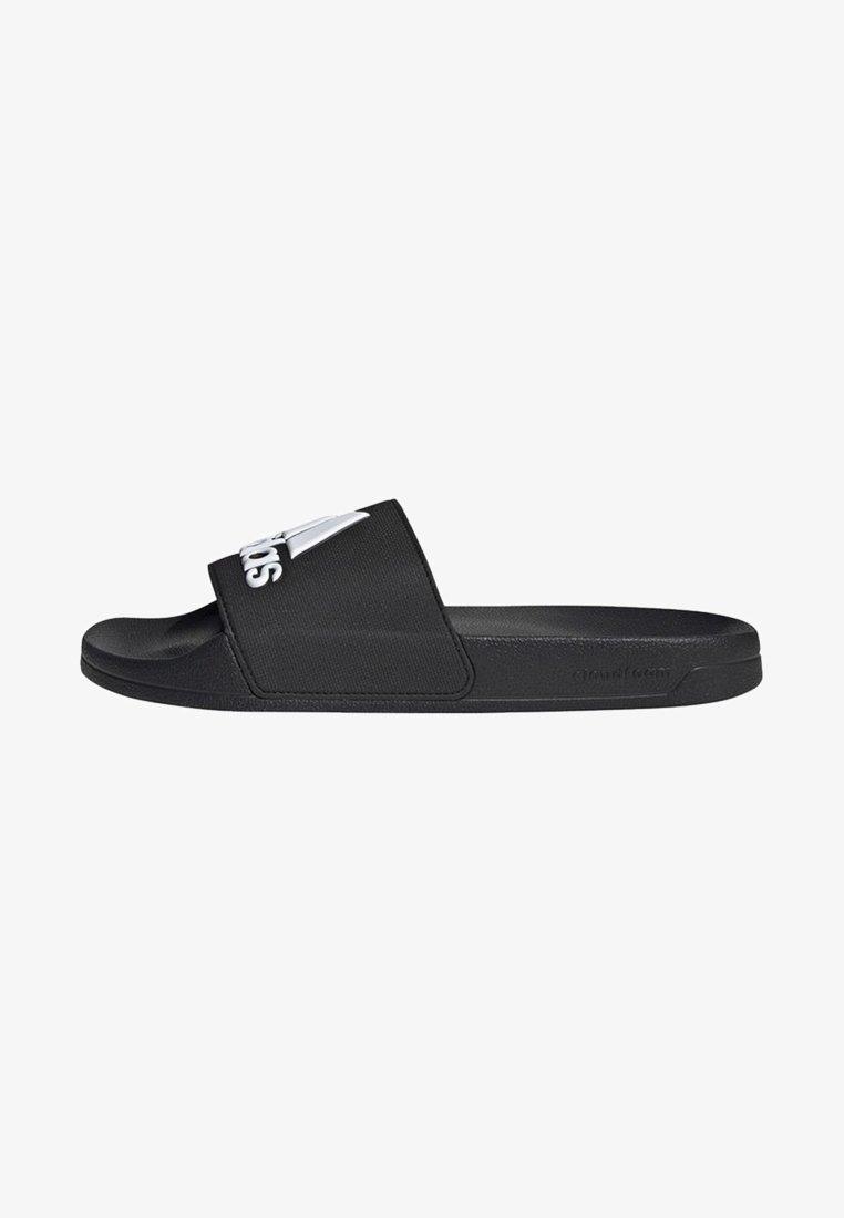 adidas Performance - ADILETTE SHOWER SWIM - Pool slides - black