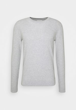 FINE STRUCTURED  - Jumper - light stone grey melange