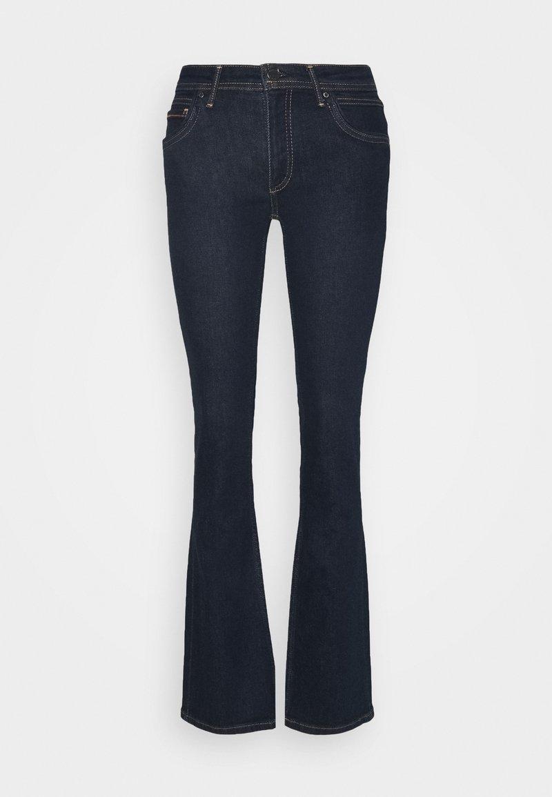 Marc O'Polo DENIM - NELLA - Flared Jeans - basically blues wash