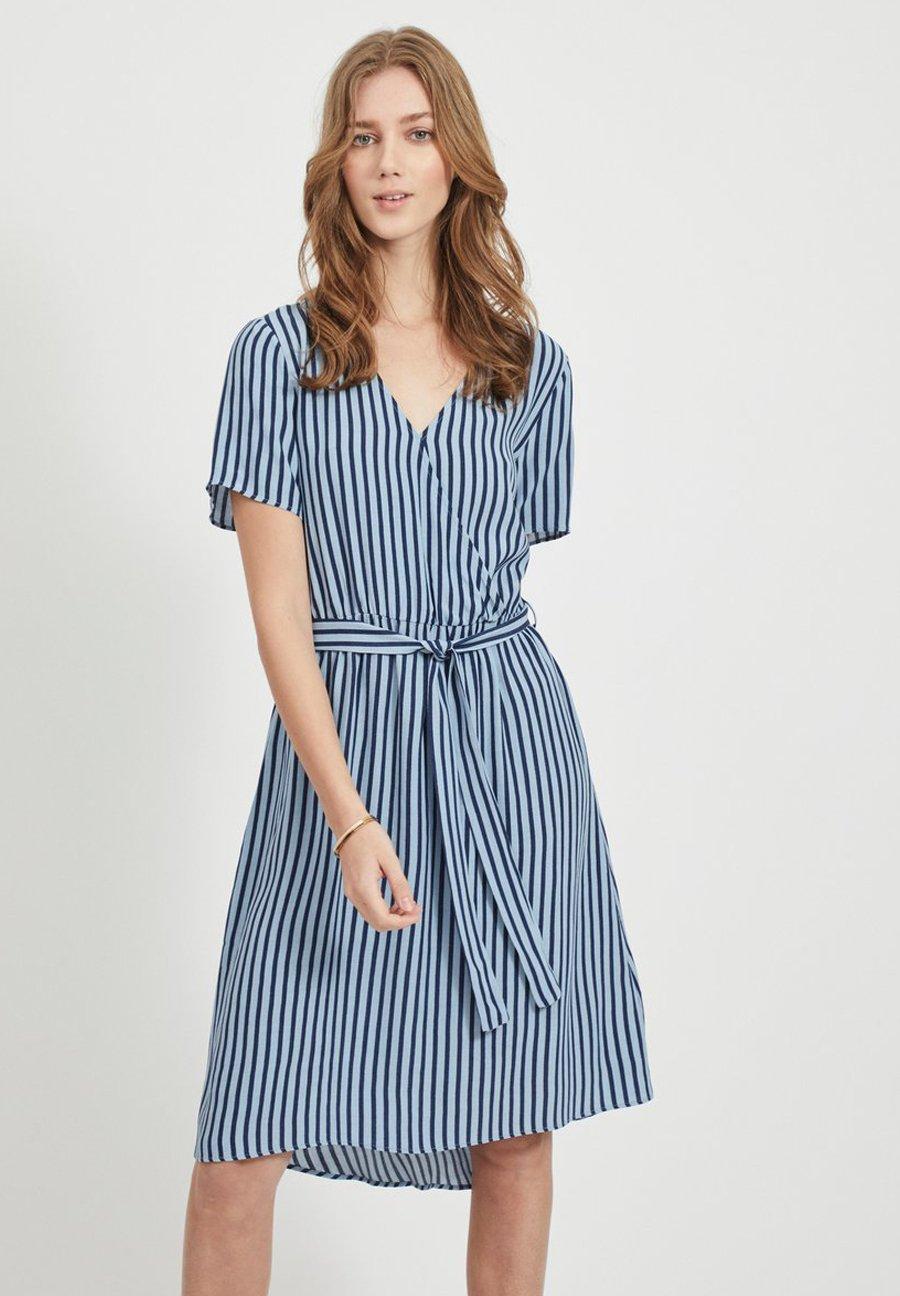 Mujer Vestido informal - ashley blue
