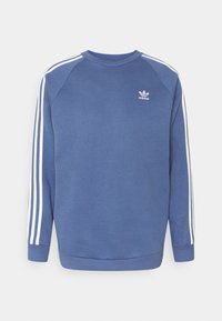 adidas Originals - 3 STRIPES CREW UNISEX - Sudadera - blue - 0