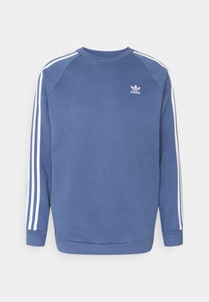 3 STRIPES CREW UNISEX - Sudadera - blue