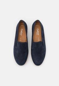 Gabor Comfort - Mocassins - blue - 5