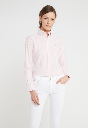 HARPER CUSTOM FIT - Button-down blouse - pink/white