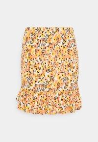 Vila - VIMIE  - Mini skirt - cloud dancer/orange - 0