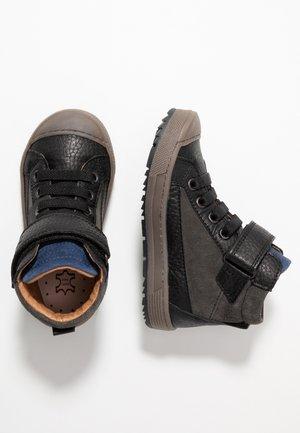 Zapatillas altas - nero/grigio