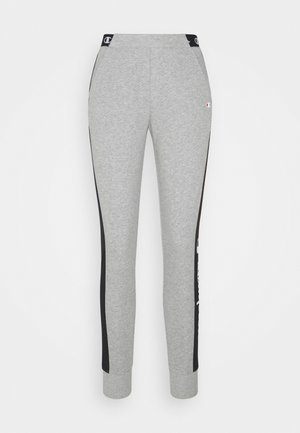 CUFF PANTS - Verryttelyhousut - mottled grey