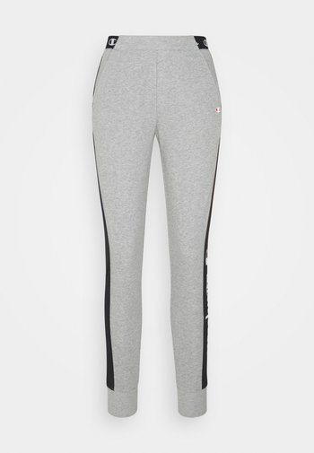 CUFF PANTS - Joggebukse - mottled grey