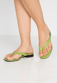 Who What Wear - CALI - Sandalias de dedo - bright green - 0