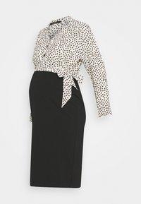 9Fashion - GOHDA - Shift dress - black/white - 0