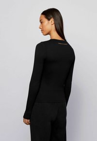 BOSS - Long sleeved top - black - 2