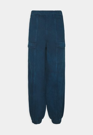 LADIES TROUSERS - Bukse - blue tie dye