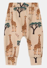Walkiddy - GIRAFFES BAGGY UNISEX - Broek - orange - 1