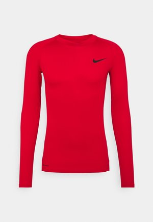 PRO TIGHT MOCK - Camiseta de deporte - red/black