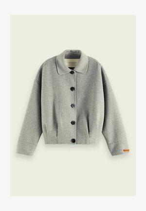 Korte jassen - grey melange