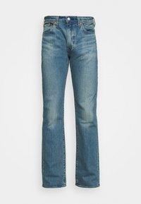 527 - Jeans bootcut - squash automobile