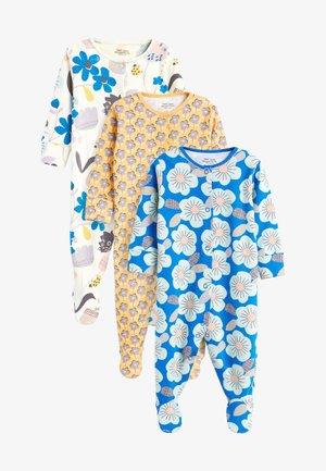 3 PACK - Dupačky na spaní - blue