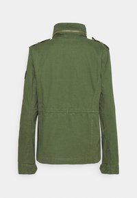 Superdry - JACKET - Summer jacket - olive - 1