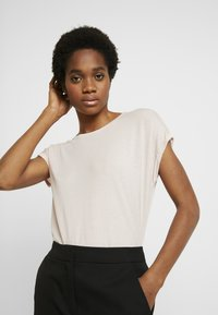 Vero Moda - VMAVA PLAIN - T-shirt basic - sepia rose - 0