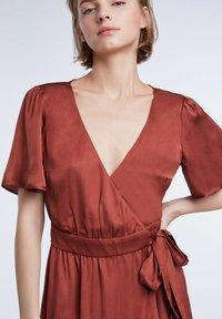 SET - Day dress - terracotta - 5