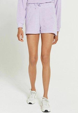 MIAMI SOLID - Shorts - pastel lilac purple